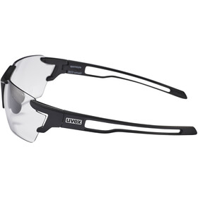 UVEX Sportstyle 803 V Glasses small, black mat/smoke